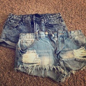 Forever21 Jean Shorts -Size 29 (blue)